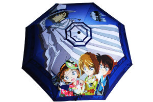 Pure Polyester Digital Printed Umbrella pictures & photos
