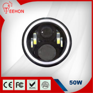 7inch 50W Car LED Headlights Harley LED Headlight for Jeep Wrangler Toyota Harley pictures & photos