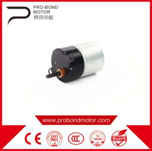 DC Gear Permenent Magnet Brush Motor 24zyj pictures & photos
