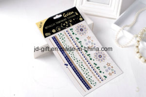 Wholesale Metallic Temporary Tattoo Sticker pictures & photos