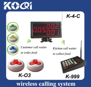 CE Approved Kitchen Wireless Service Calling System pictures & photos