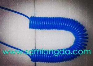 Ether Base PU Spiral Hose with Water Resistant Feather pictures & photos