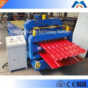 Roof Glazed Tile/Ibr Sheet Double Layer Roll Forming Machine