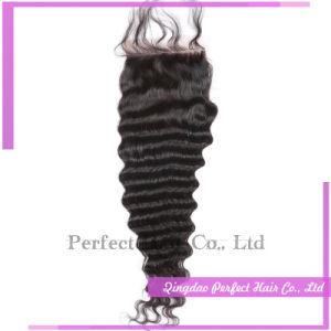 5A Brazilian Swiss Slik Base Hair Closure pictures & photos