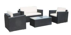 Stylish Outdoor Rattan Furniture Set / Garden Wicker Sofa