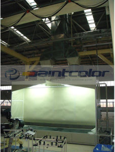 6-6-4m Water Curtain Paint Booth pictures & photos