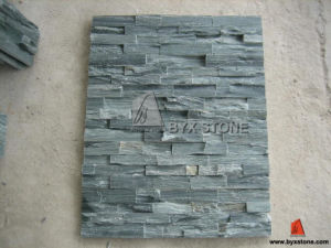 Green Slate Culture Stone for Garden Decoration and Wall Cladding pictures & photos