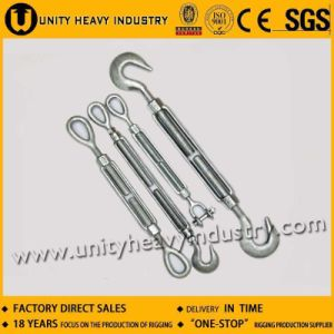 Us Type Hook and Hook Forged Turnbuckle pictures & photos