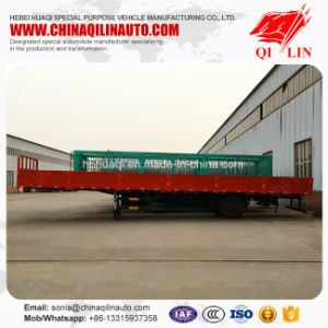 12 Meters Length Side Wall Open Tailgate Semi Trailer pictures & photos