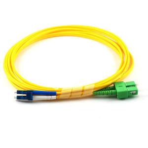 OEM CATV Networks Sc-FC/APC Dulplex Mulitmode 2.0mm Fiber Optic Patch Cord pictures & photos
