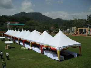 5*5m Logo Printing Tent Promotion Pagoda Vendor Tent pictures & photos