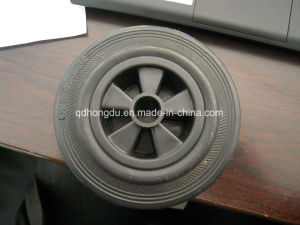 5 Inch Cheap Solid Rubber Wheel with High Quality pictures & photos