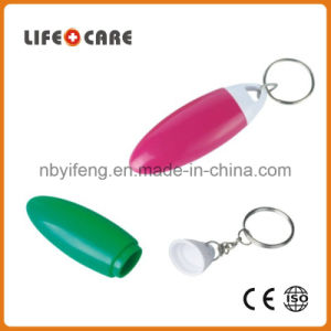 Good Promotion Medical Plastic Pillbox Keychain pictures & photos