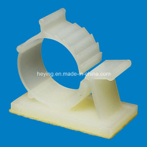 Plastic Nylon Self Adhesive Cable Clamp pictures & photos
