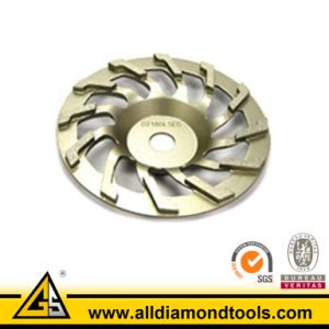L Segment Metal Bonded Diamond Cup Wheel pictures & photos