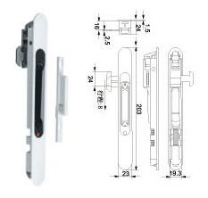 Window Lock (WL-30) for Aluminum Sliding Window and Door pictures & photos