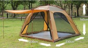 Shelter Campinng Tent for Outdoor (MW4024) pictures & photos