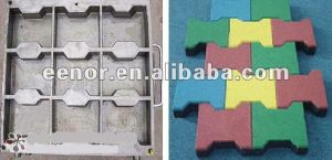 Rubber Vulcanizer Rubber Tile Making Machine / Rubber Tile Machine / Rubber Tile Making Machine pictures & photos