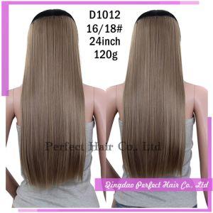 Natural Virgin Keratin Clip in Extension Hair pictures & photos