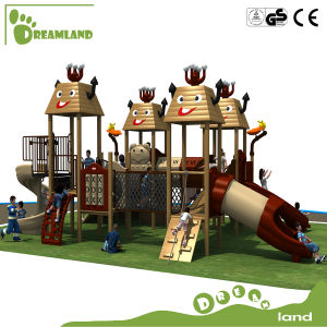 Kids Outdoor Playground Equipment, Playground Wood for Children pictures & photos