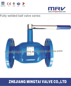 Flange Ends Lever Type Ball Valve