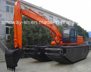 Hitachi Marsh Excavator pictures & photos