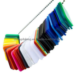 Cast Acrylic Sheet Color Chain pictures & photos