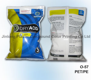 Chemical Plastic Packaging Bag with Bottom Gusset and Zipper pictures & photos