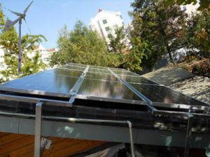 5kw Solar Wind Hybrid Generator System