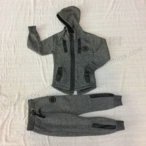 Fashion Boy Longline Tracksuits Clothes with Zipper Sq-6451 pictures & photos