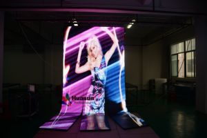 Flexible LED Curtain Display P6 pictures & photos