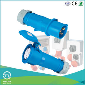 IP44 Cee/IEC Industrial Plugs & Sockets Male Plugs pictures & photos