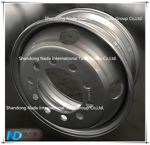 17.5X6.75 Tubeless Rim TBR Truck Steel Wheel with Ts16949/ISO9001: 2000 pictures & photos