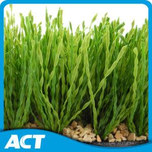 Heliciform Fiber Artificial Grass for Football Soccer (S50) pictures & photos