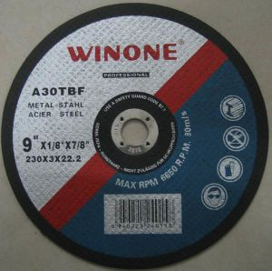 Flat Type Cutting Disc for Metal (R41A-A) pictures & photos