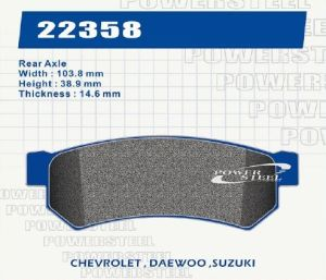 D1315 Brake Pad for Chevy, Suzuki pictures & photos