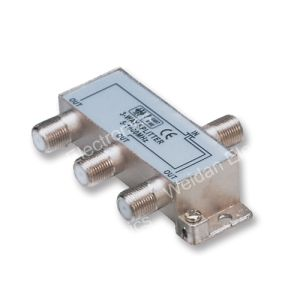 3 Way RF CATV/Sat Distribution Splitter (WD20A-015) pictures & photos