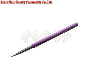Eeesa Professional Metal Handle Beauty Nail Art Tool Pure Kolinsky Sable Hair Nail Art Brush Brush Painting