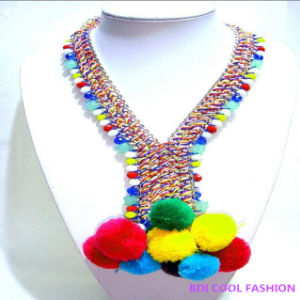 2014 New Design Fluffy Ball Pendant Fashion Jewelry pictures & photos