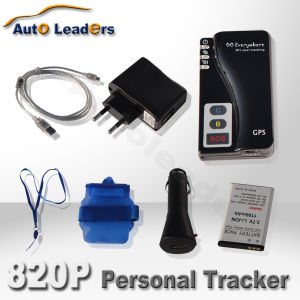 GPS/GPRS/GSM Personal and Pet Tracker 820P With Online Tracking Software