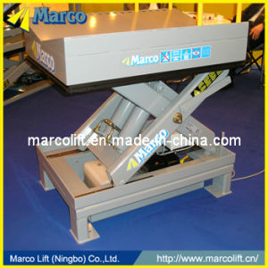 4 - 5 Ton Marco Single Scissor Lift Table with CE Approved pictures & photos