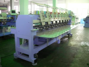 Multi Head Cylinder Type Embroidery Machine (CT908)