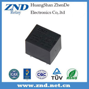 3FF (T73) 7A 12V Power Relay Black Cover Electromagnetic Relay pictures & photos