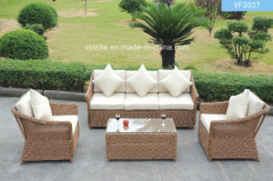 Perfect Stylish PE Wicker Garden Outdoor Rattan Sofa pictures & photos