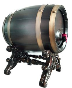 Electronic Wine Barrel, Using Thermal Control System, with Antique Imperial Design