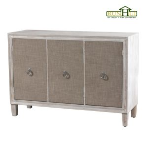 Home Decoration Whitewash Cabinet with Ample Storage Livingroom Furniture pictures & photos