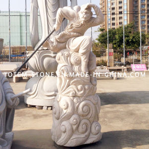 Modern Carved Monkey King Granite Stone Statue Sculpture for Sale pictures & photos