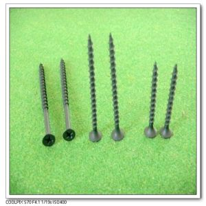 Coarse Thread Black Phosphate Screw (3.5*25) (3.5*19)
