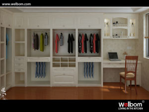 2015 Custom Oak Wood Wardrobe Design pictures & photos