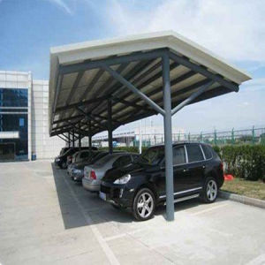 New Design Solar Panel Carport with Steel Frame (SP-002) pictures & photos